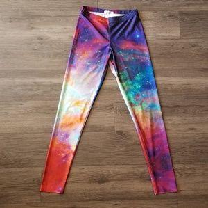 Rainbow Galaxy Leggings